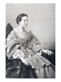 Clara Novello (1818-1908) Engraved by D.J. Pound from a Photograph