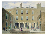 St. Thomas's Hospital, Southwark, London (W/C on Paper)