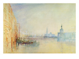 Venice, the Mouth of the Grand Canal, C.1840 (W/C on Paper)