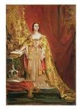 Queen Victoria (1819-1901) Taking the Coronation Oath, 28th June 1838 (Oil on Panel)