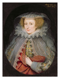 Catherine Killigrew, Lady Jermyn, 1614 (Oil on Panel)