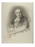 Portrait of William Blake, Frontispiece from 'The Grave, a Poem' by William Blake (1757-1827)