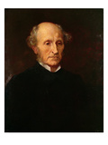John Stuart Mill, 1873 (Oil on Canvas)
