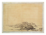 Fantastic Landscape, 1780-85 (Wash with Pencil on Paper)