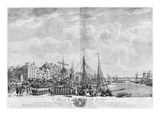 Port and Town of Le Havre, Seen from the Tower of Francois I, Series of 'Les Ports De France'