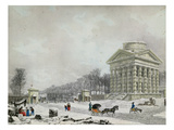 The Barriere Des Champs-Elysees, 1808 (Aquatint)