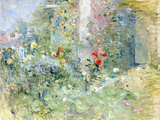 The Garden at Bougival, 1884 (Oil on Canvas) Giclee Print