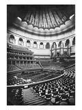 The Royal Albert Hall, London, C.1880's (B/W Photo)