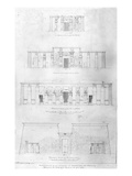 Restoration of the Temple of Ramases II at Thebes, Drawn and Measured by F. Avondale