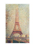 The Eiffel Tower, 1889 (Panel)