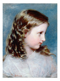 Head of a Girl, 1860 (Panel)