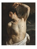 St. Sebastian (Oil on Canvas)