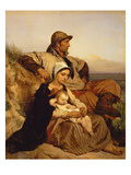 The Fisherman's Family, 1848 (Panel)