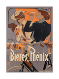 Poster Advertising Phenix Beer, C.1899 (Colour Litho),