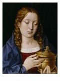 Catherine of Aragon as the Magdalene (Oil on Oak Panel)