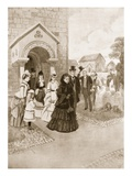 Queen Victoria's Life at Osborne: Her Majesty at Whippingham Church