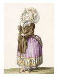 Polonoise, Engraved by Voysard, Plate No.84 from 'Galeries Des Modes Et Costumes Francais'