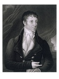 Charles Brockden Brown (1771-1810) Engraved by John B. Forrest (1814-70) (Engraving)