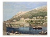 South Barracks from Rosia Bay, from 'Select Views of the Rock and Fortress of Gibraltar'