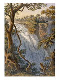 Victoria Falls: the Leaping Water (Colour Litho)