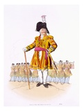 Lord Mayor, from 'Costume of Great Britain', Published by William Miller, 1805 (Colour Litho)