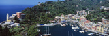 Buy Boats at a Harbor, Portofino, Italy at AllPosters.com