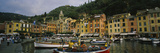 Buy Fishing Boats at the Harbor, Portofino, Italy at AllPosters.com