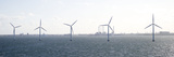 Wind Turbines in the Sea, Copenhagen, Denmark