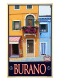 Buy Burano Window, Italy 1 at AllPosters.com
