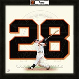 Buster Posey, Giants representation of the player's jersey