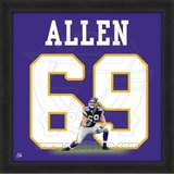 Jared Allen, Vikings photographic representation of the player's jersey