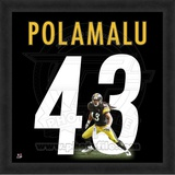 Troy Polamalu, Steelers photographic representation of the player's jersey