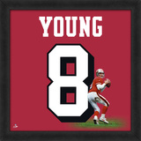 Steve Young, 49ers representation of the player's jersey