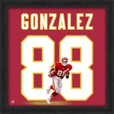 Tony Gonzalez, Chiefs representation of the player's jersey