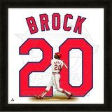 Lou Brock, Cardinals representation of the player's jersey