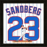 Ryne Sandberg, Cubs representation of the player's jersey