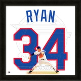 Nolan Ryan, Rangers representation of the player's jersey