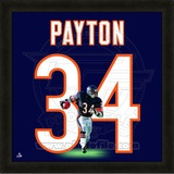 Walter Payton, Bears photographic representation of the player's jersey