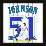 Randy Johnson, DBacks representation of the player's jersey
