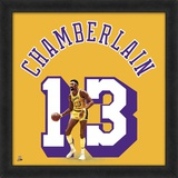 Wilt Chamberlain, Lakers photographic representation of the player's jersey