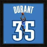 Kevin Durant, Thunder photographic representation of the player's jersey