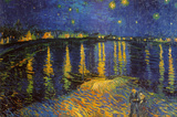 Buy Starry Night Over the Rhone, c. 1888 at AllPosters.com