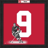 Gordie Howe, Red Wings photographic representation of the player's jersey