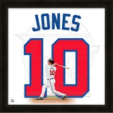 Chipper Jones, Braves representation of the player's jersey