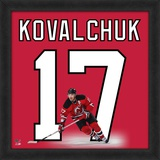 Ilya Kovalchuk, Devils representation of the player's jersey
