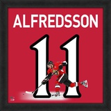 Daniel Alfredsson, Senators representation of the player's jersey