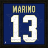 Dan Marino, University of Pittsburgh representation of the player's jersey