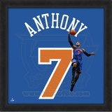 Carmelo Anthony, Knicks  Representation of the player's jersey