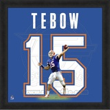 Tim Tebow, University of Florida representation of the player's jersey