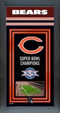 Chicago Bears Framed Championship Banner